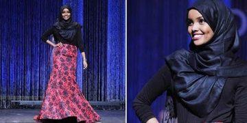 قصة حليمة آدن عارضة الأزياء المحجبة التي حطمت كل الحواجز في عالم الموضة