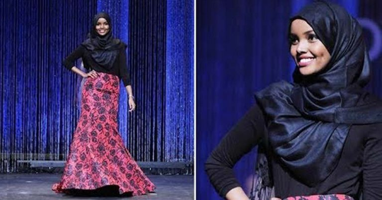 7cfb70003 قصة حليمة آدن عارضة الأزياء المحجبة التي حطمت كل الحواجز في عالم الموضة