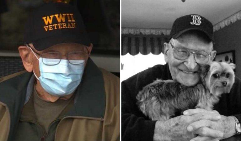 نجى هذا العجوز البالغ 104 سنوات من الحرب العالمية الثانية ومن الأنفلوانزا الإسبانية وهو أكبر ناج من فيروس كورونا