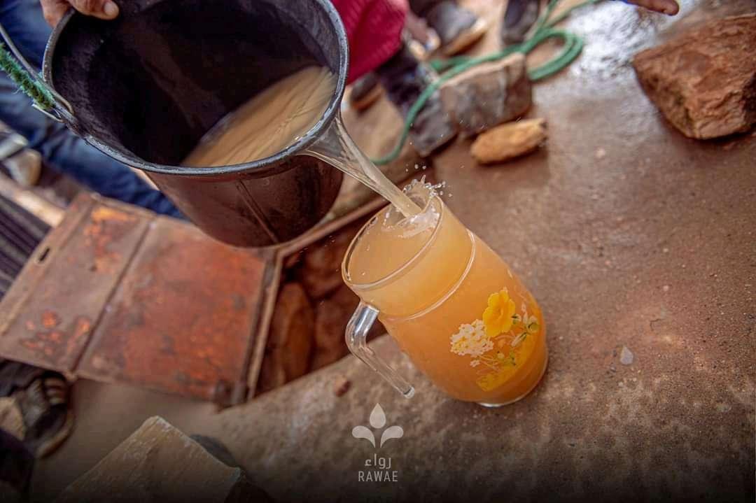 الماء الذي يشرب منه ساكنة دواوير أكادير تيكمين بإقليم تارودانت - المغرب